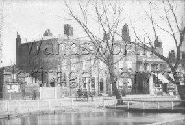 Cock Pond, Clapham Common, –  C1860