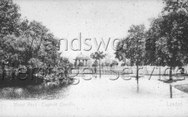 Mount Pond, Clapham Common  –  C1905