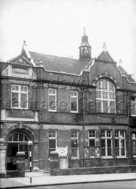 Clapham Library, Clapham Common North Side- 1950