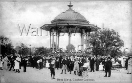 Clapham Common bandstand, –  C1910