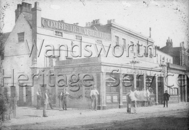 Cock Tavern, Old Town, Clapham, –  C1868