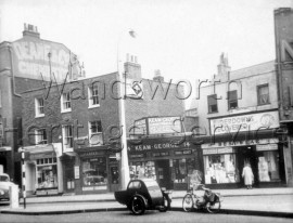 The Pavement, Clapham- 1958