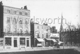 The Pavement, Clapham, –  C1885