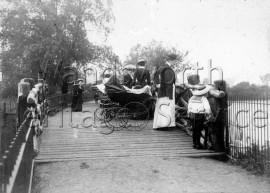 Beverley Brook Bridge, Putney-  C1910