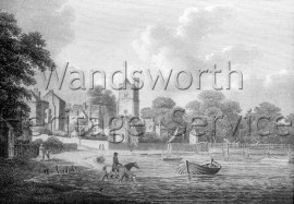Old Putney Bridge  –  C1796