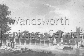 Old Putney Bridge  –  C1799