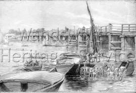 Old Putney Bridge- 1884