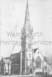 Christ Church, Battersea Park Road, –  C1849