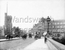 Putney Bridge and Putney High Street, –  C1900