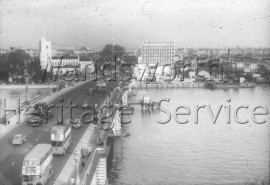 Putney Bridge, from St Mary's Putney- 1960