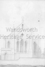 St George's Chapel, Nine Elms- 1829