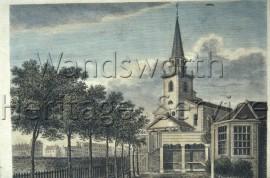St  Mary's Church, Battersea- 1807