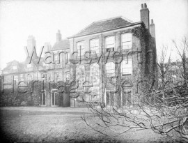 Fairfax House, Putney High Street  –  C1875