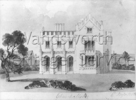 Gothic House, next to St  Mary's Church- 1829