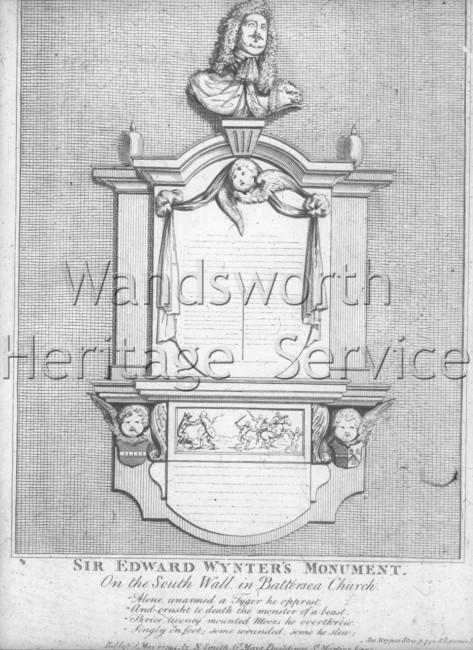 St  Mary's Church, Battersea- 1794