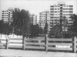 Alton Estate: view of flats on Tunworth Crescent and Danebury Avenue- 1960