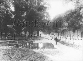 Grantham Pond, Putney Heath- 1898