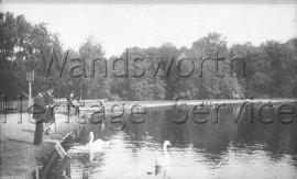 Queensmere, Wimbledon Common –  C1900