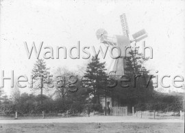 Windmill, Wimbledon Common  –  C1905