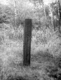 Boundary Stone between Wimbledon, Putney and Wandsworth-
