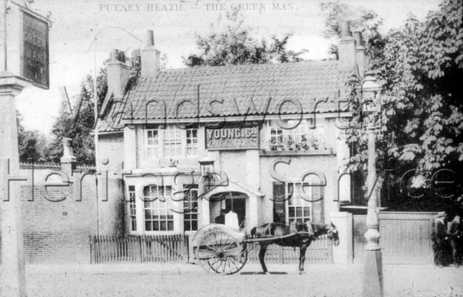 The Green Man, Putney Heath  –  C1900