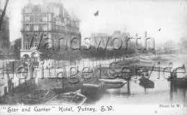 The Star and Garter, Lower Richmond Road  –  C1895