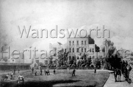 Putney School, Upper Richmond Road, –  C1880