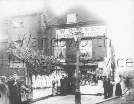 William Quenby, butcher, Felsham Road-  C1910