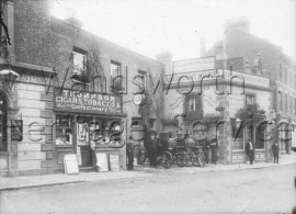 Thompson, Tobacconist, 65, Upper Richmond Road  –  C1900