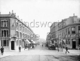 Putney High Street  –  C1900