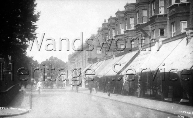 Upper Richmond Road –  C1920